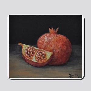 Gourmet Food Pomegranate Mousepad