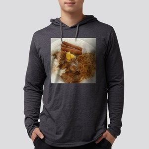 chicken adobo,pancit and lumpi Long Sleeve T-Shirt