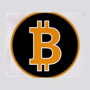 Bitcoin Throw Blanket