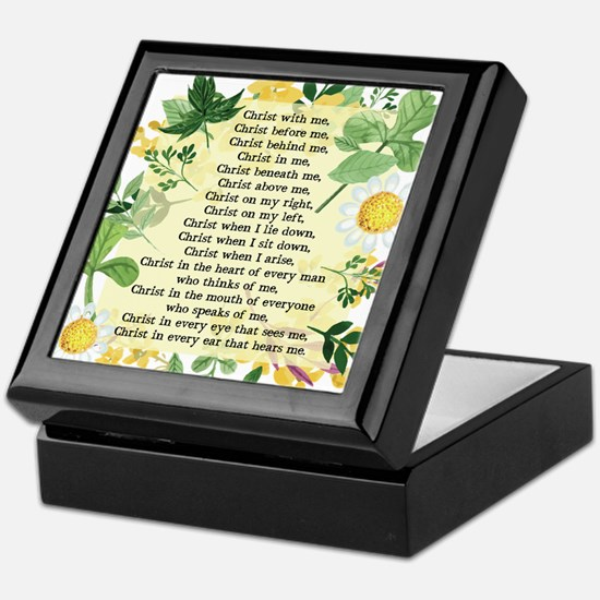 St. Patrick's Breastplate Keepsake Box