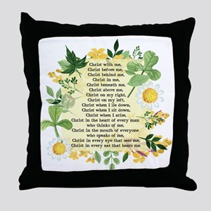 St. Patrick's Breastplate Throw Pillow