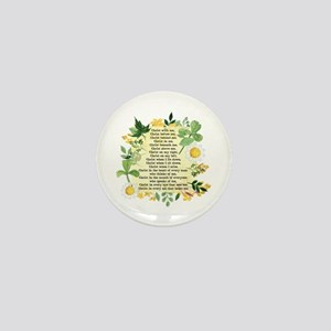 St. Patrick's Breastplate Mini Button