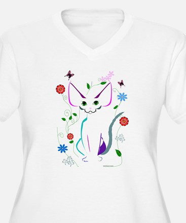 Cute Ladybug for cats T-Shirt