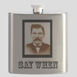 4-saywhenshirt Flask