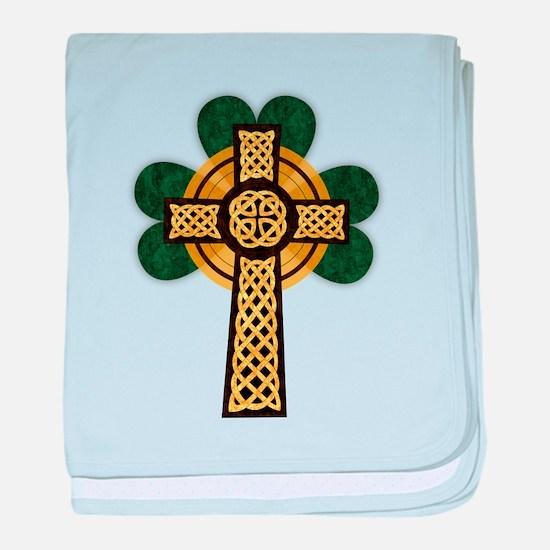 Celtic Cross baby blanket