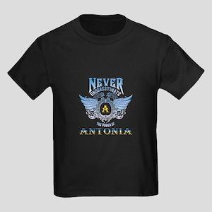 Never underestimate the power of antonia T-Shirt
