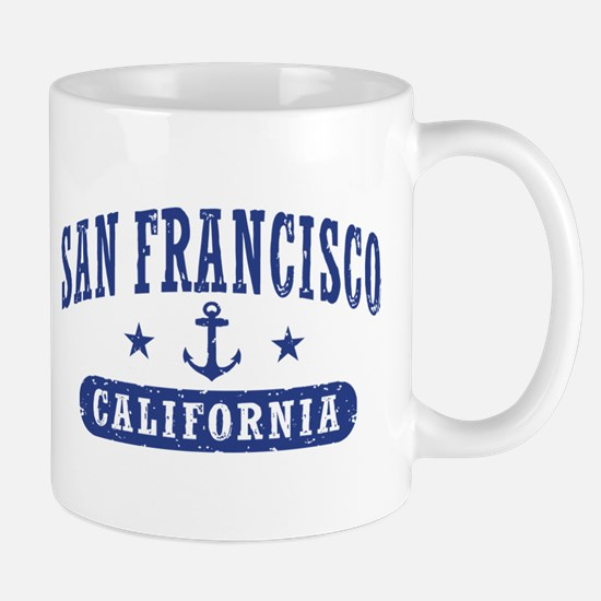 San Francisco California Mug