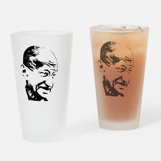 Cute Mahatma gandhi Drinking Glass