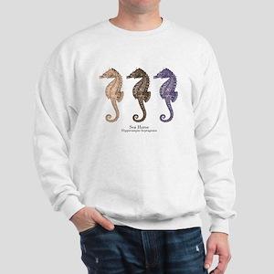 Sea Horse Vintage Art Sweatshirt