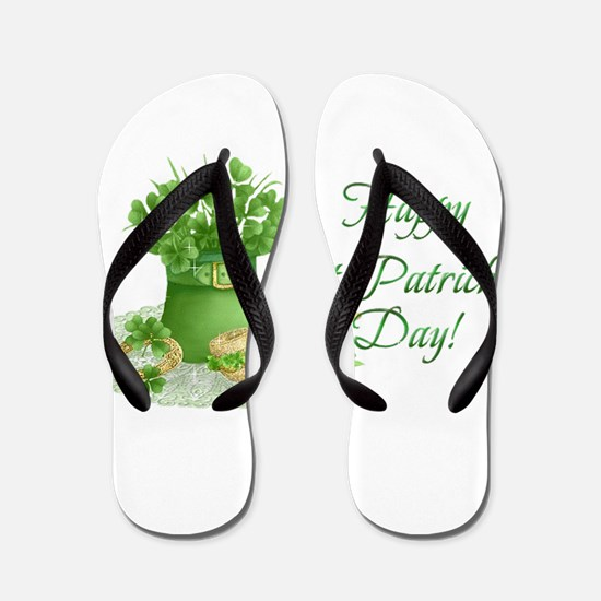 Cute Saint patricks day Flip Flops