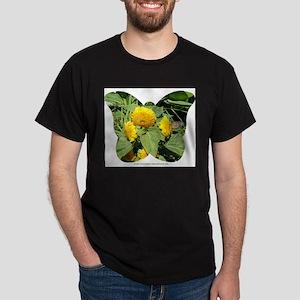 BUTTERFLY ON SUNFLOWER Dark T-Shirt
