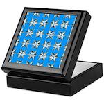 Crappie six star Keepsake Box