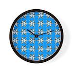 Crappie six star Wall Clock