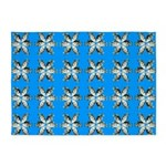 Crappie six star 5'x7'Area Rug