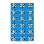Crappie six star Area Rug