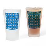 Crappie six star Drinking Glass