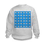 Crappie six star Sweatshirt