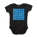Crappie six star Baby Bodysuit