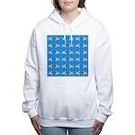 Crappie six star Women's Hooded Sweatshirt