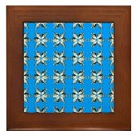 Crappie six star Framed Tile