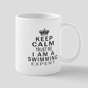 Swimming Expert Designs Mug