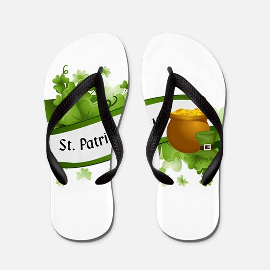 Cool Saint patricks day Flip Flops