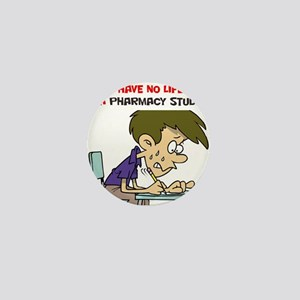 No Life Pharm Stud Mini Button