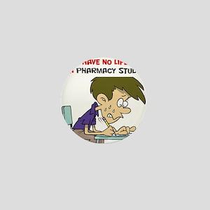No Life Pharm Stud Mini Button