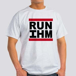 Run IHM Logo onWhite T-Shirt
