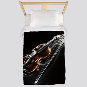 Lightening Violin Twin Duvet Cover