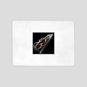 Lightening Violin 5'x7'Area Rug