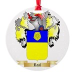 Real Round Ornament