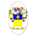 Real Sticker (Oval 50 pk)