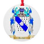 Reader Round Ornament