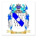 Reader Square Car Magnet 3
