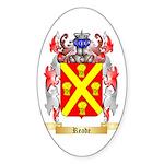 Reade Sticker (Oval 50 pk)