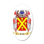 Reade 35x21 Oval Wall Decal