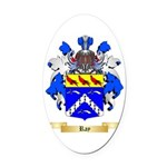 Ray Oval Car Magnet