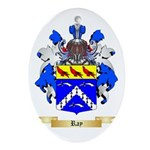 Ray Oval Ornament
