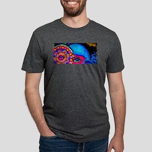 Neon Female Alien T-Shirt