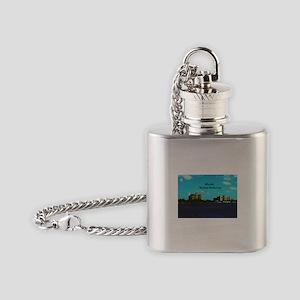 Atlantis Flask Necklace