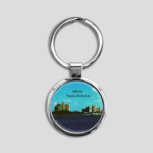 Atlantis Round Keychain
