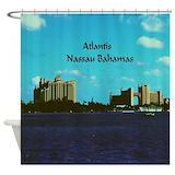 Atlantis bahamas Shower Curtains