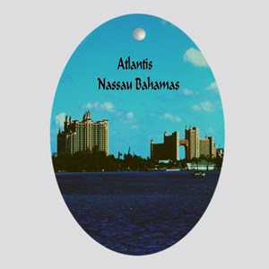 Atlantis Oval Ornament