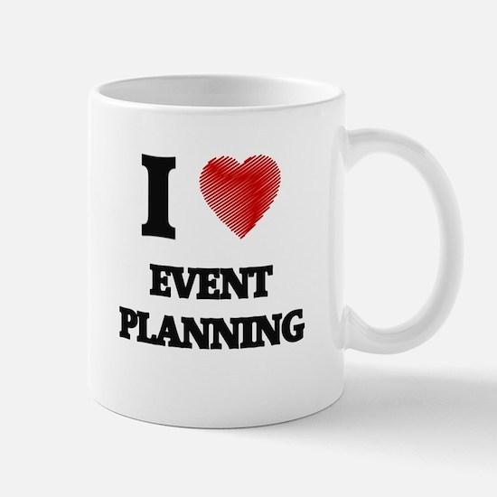 I love EVENT PLANNING Mugs