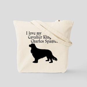 I Love my Dog (both sides) Tote Bag