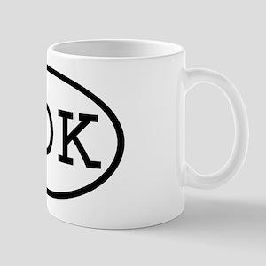 JOK Oval Mug