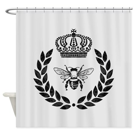 THE FRENCH BEE Shower Curtain By TheFrenchBee