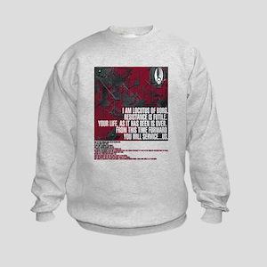 Locutus of Borg Quotes Sweatshirt