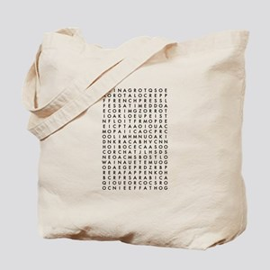 coffee word search Tote Bag